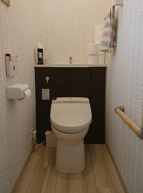 スクラビングバブル流せるトイレブラシ百均収納方法