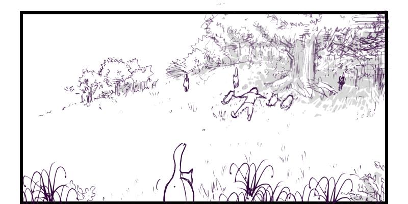 4コマ猫漫画「平日」サムネ